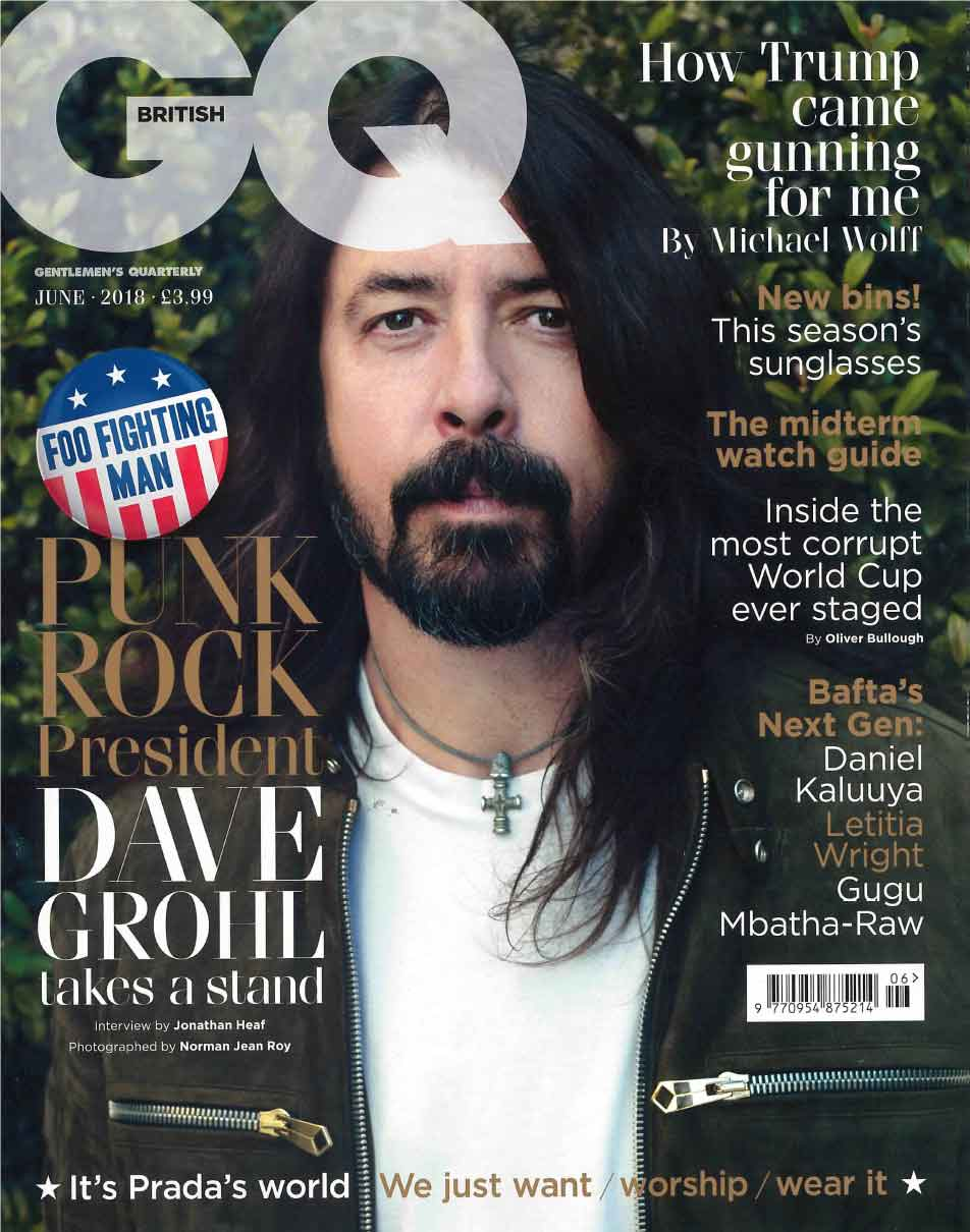 BRITISH GQ Features Decielis in Forever Yours